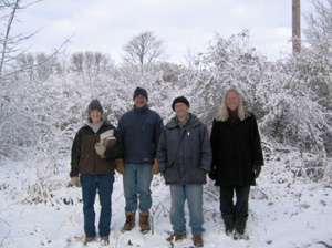 Volunteers in Winter